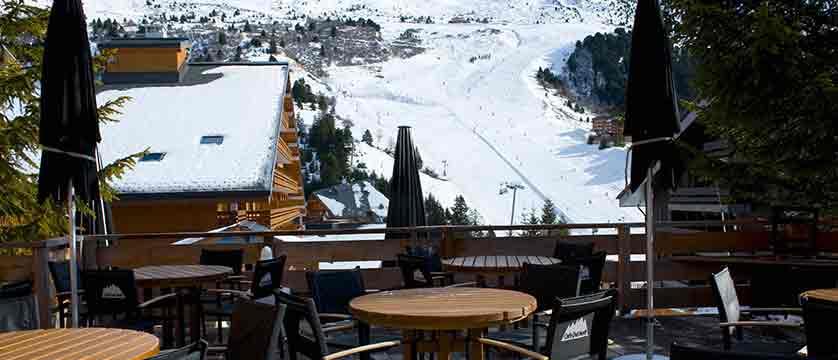 Hotel Le Mottaret - terrace